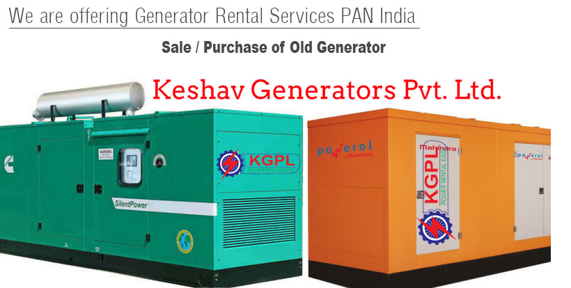 Sale / Purchase of Old Generator